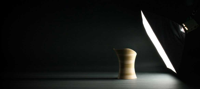 Wooden Stingray Stool