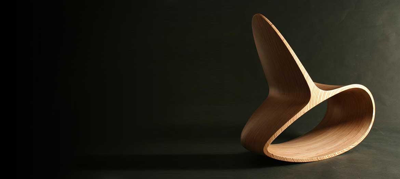 Ocean Rocker Wooden Rocking Chair