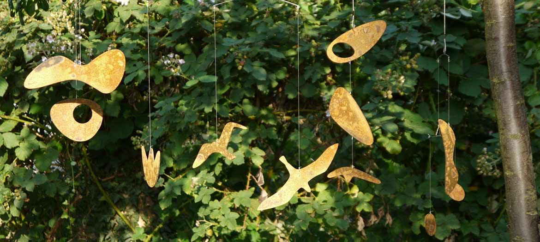 Rusty Garden Chimes