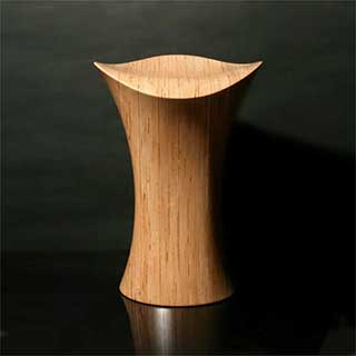 Stingray Stool, Wooden \'Tall Guy\'