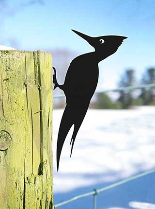 Woodpecker Garden Art