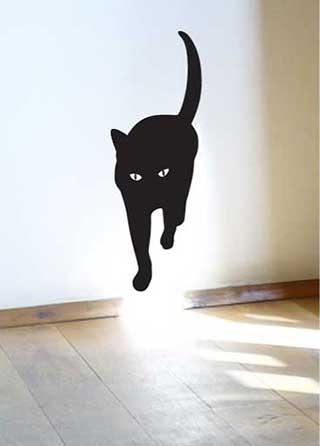 Cat Walk Wall Sticker