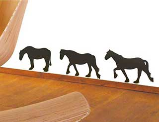 Horse Wall Stickers, Happy Horse Wall Decals