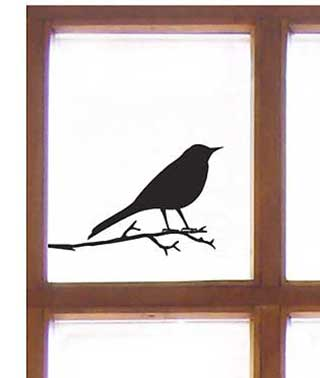 Sparrows Wall or Window Stickers