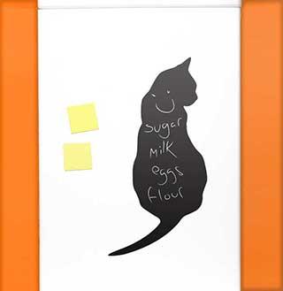 Black Cat Fridge Blackboard Sticker