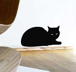 Black Cat Wall Sticker