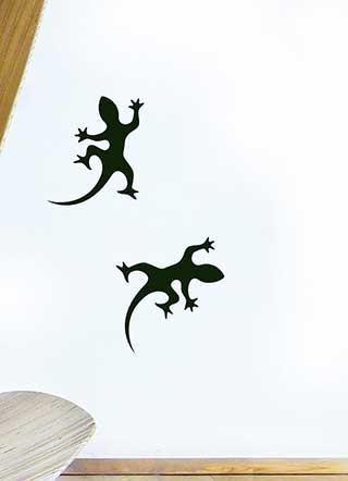 Gecko Wall Stickers