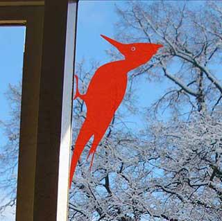 Woodpecker Wall or Window Sticker