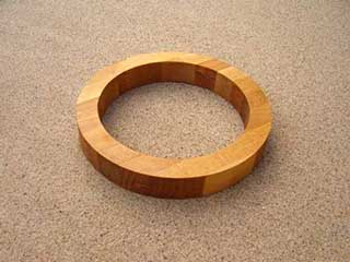 Circle Wooden Hot Plate Trivet