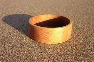 Circular Wooden Bracelet