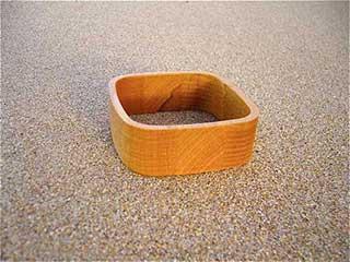 Square Wooden Bracelet